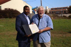 Tom Certificate of Honor