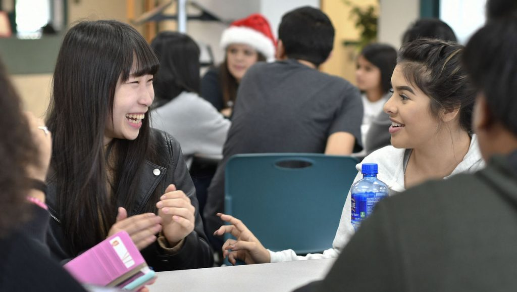 Japanese Exchange Students Visit California