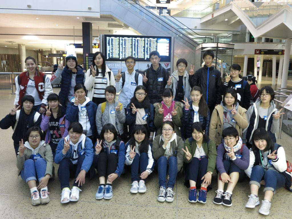 japanese exchange students visit in spring chi news