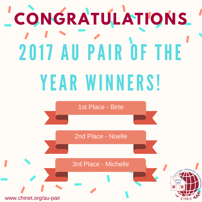 2017 Au Pair of the Year