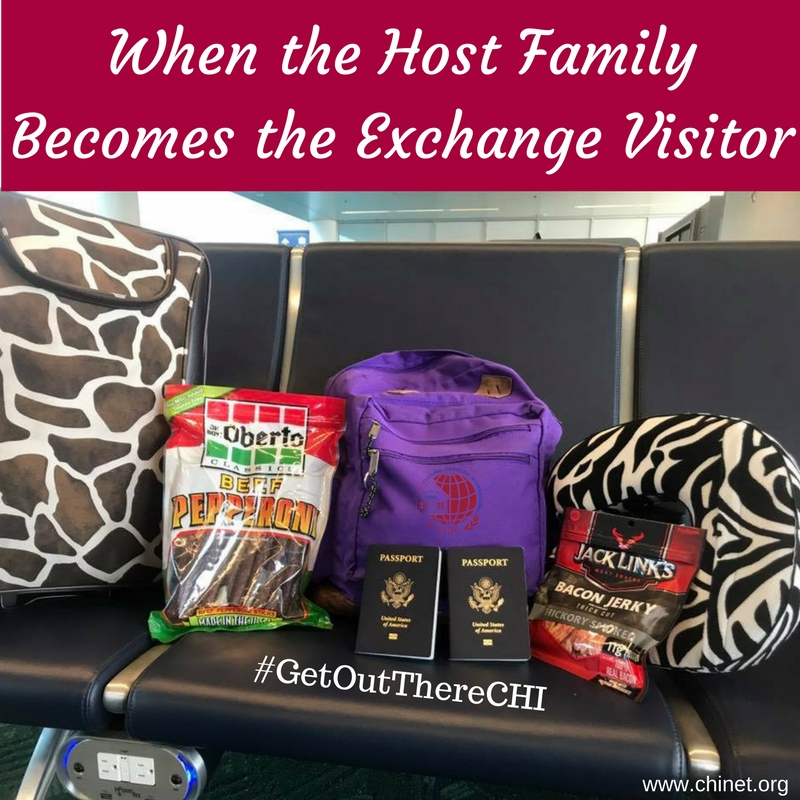 host family to exchange visitor